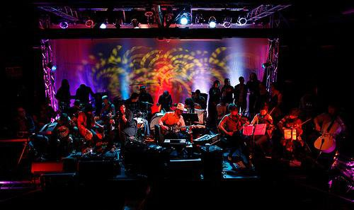 Crooked Cowboy and The Fresh Water Indians Orchestra, The Echoplex, LA, CA, 2008