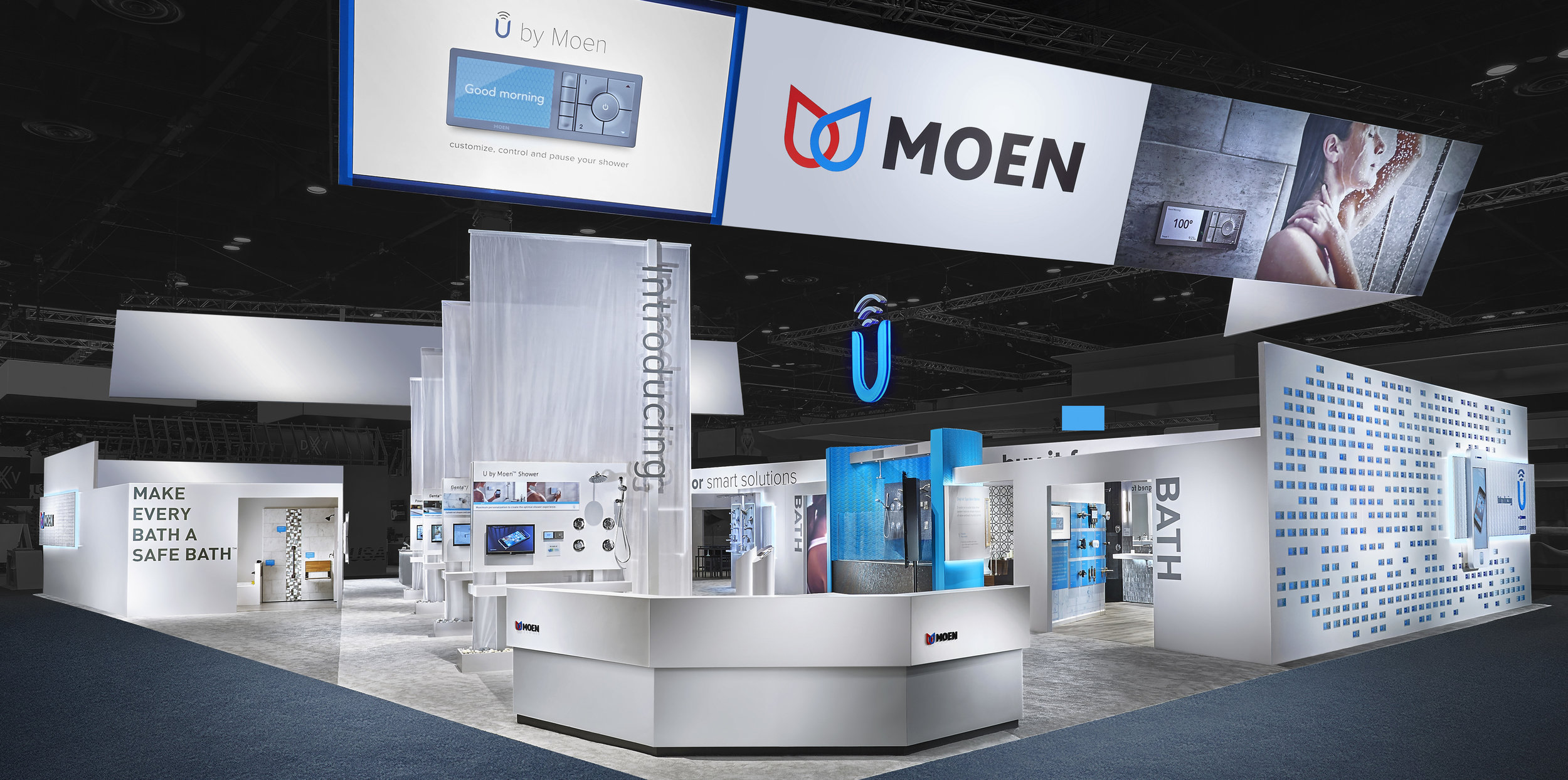 CONVENTION & TRADE SHOW PHOTOGRAPHY // MOEN EXhibit