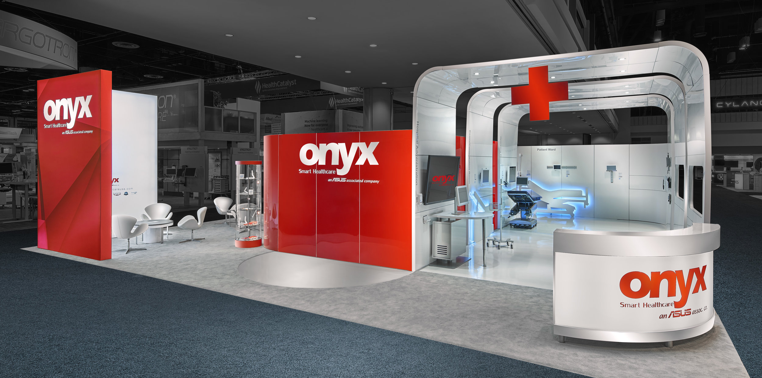 CONVENTION & TRADE SHOW PHOTOGRAPHY // ONYX EXHIBIT