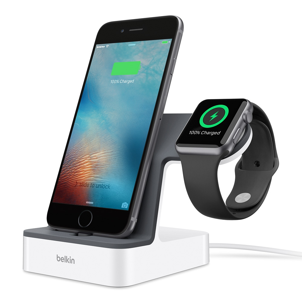 PowerHouse™ Charge Dock for Apple Watch + iPhone