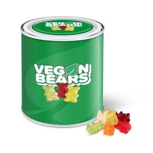 Large Paint Tin - Vegan Bears