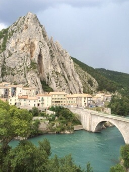 Village of Sisteron, France