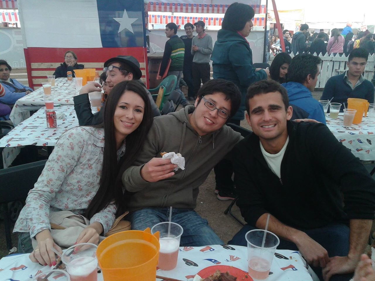 Celebrating Chilean Independence with the newlyweds, Tammy and Pancho