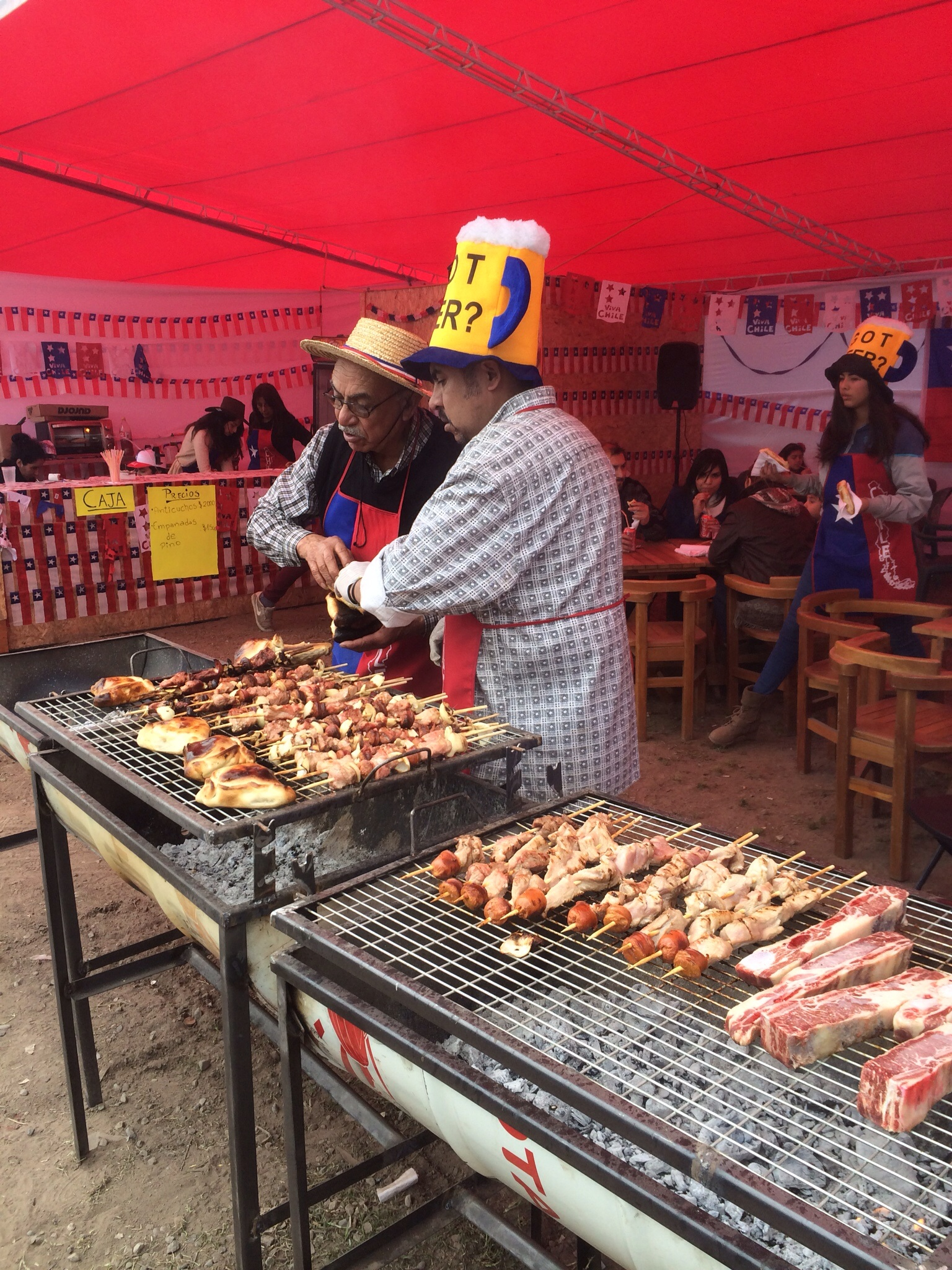 Chilean Independece Day: let there be meat