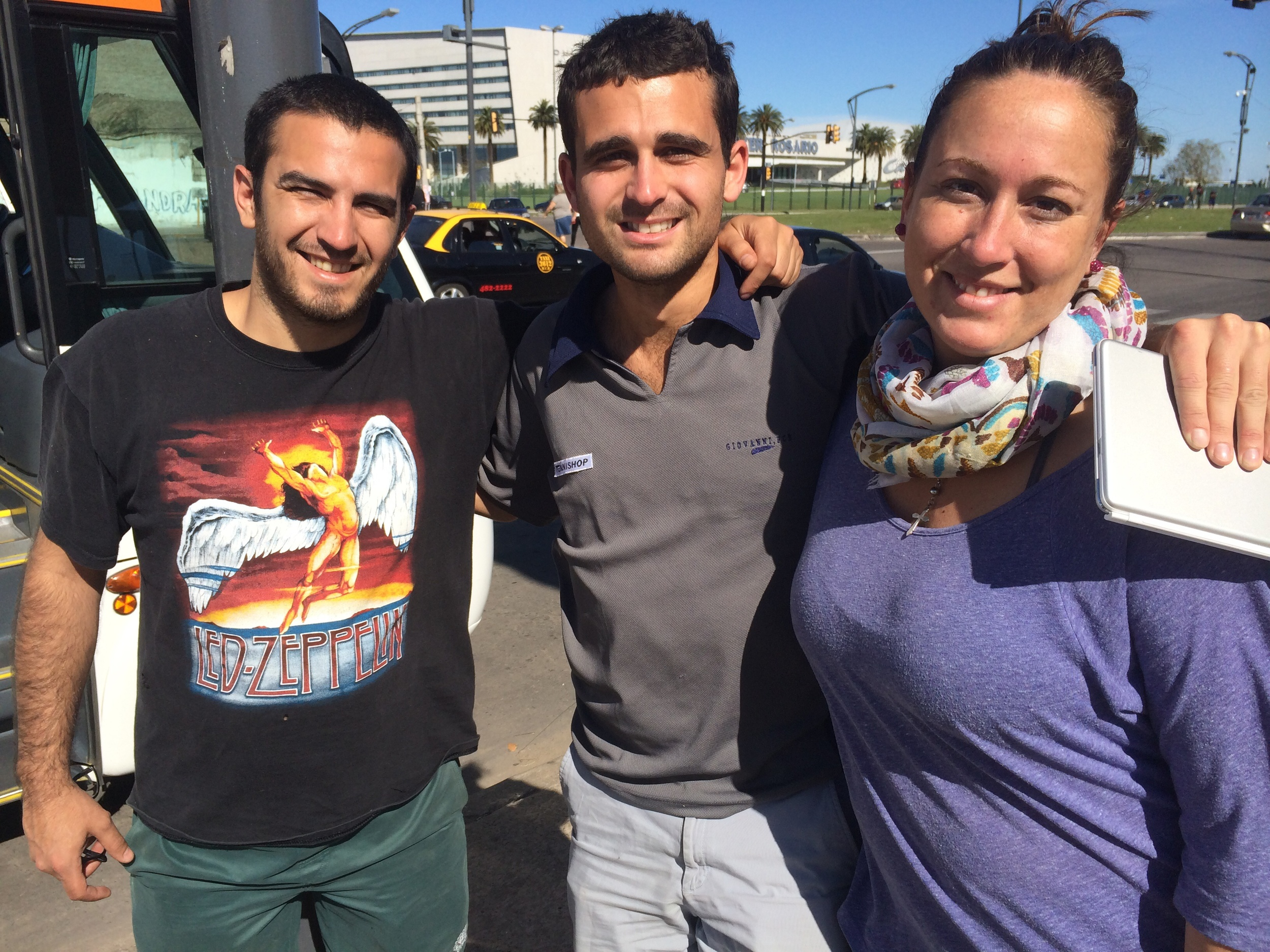 Dario and Ana: the best friends you can have in Rosario