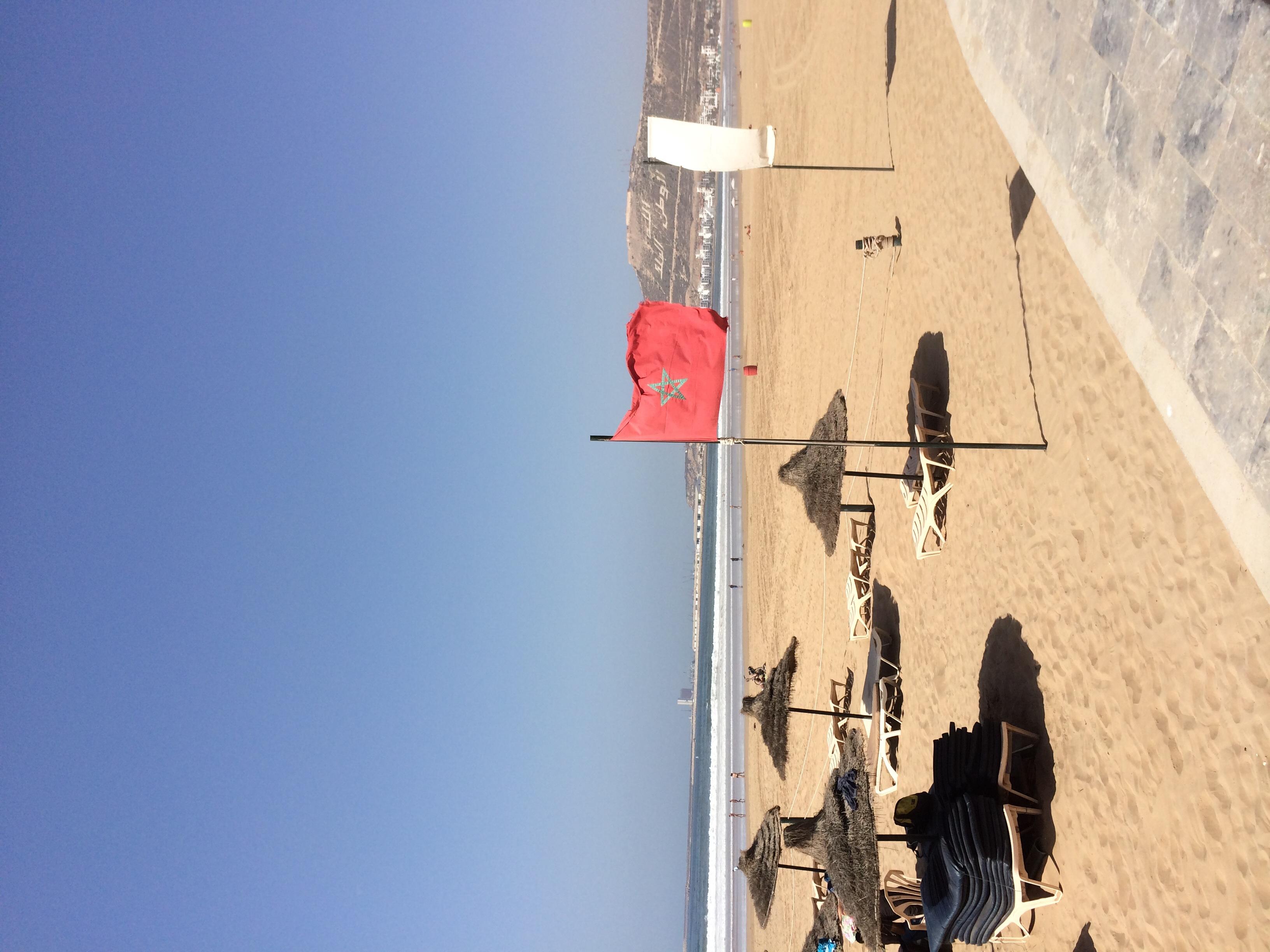 Beaches of Agadir, Morocco