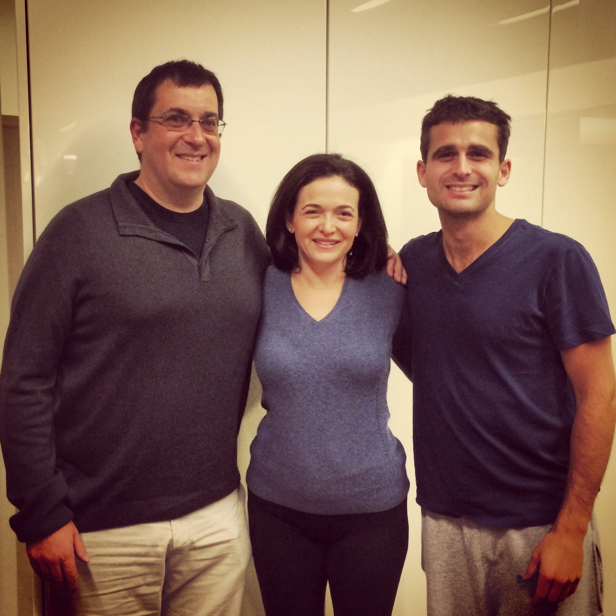 Sheryl Sandberg and Dave Goldberg / Menlo Park, California