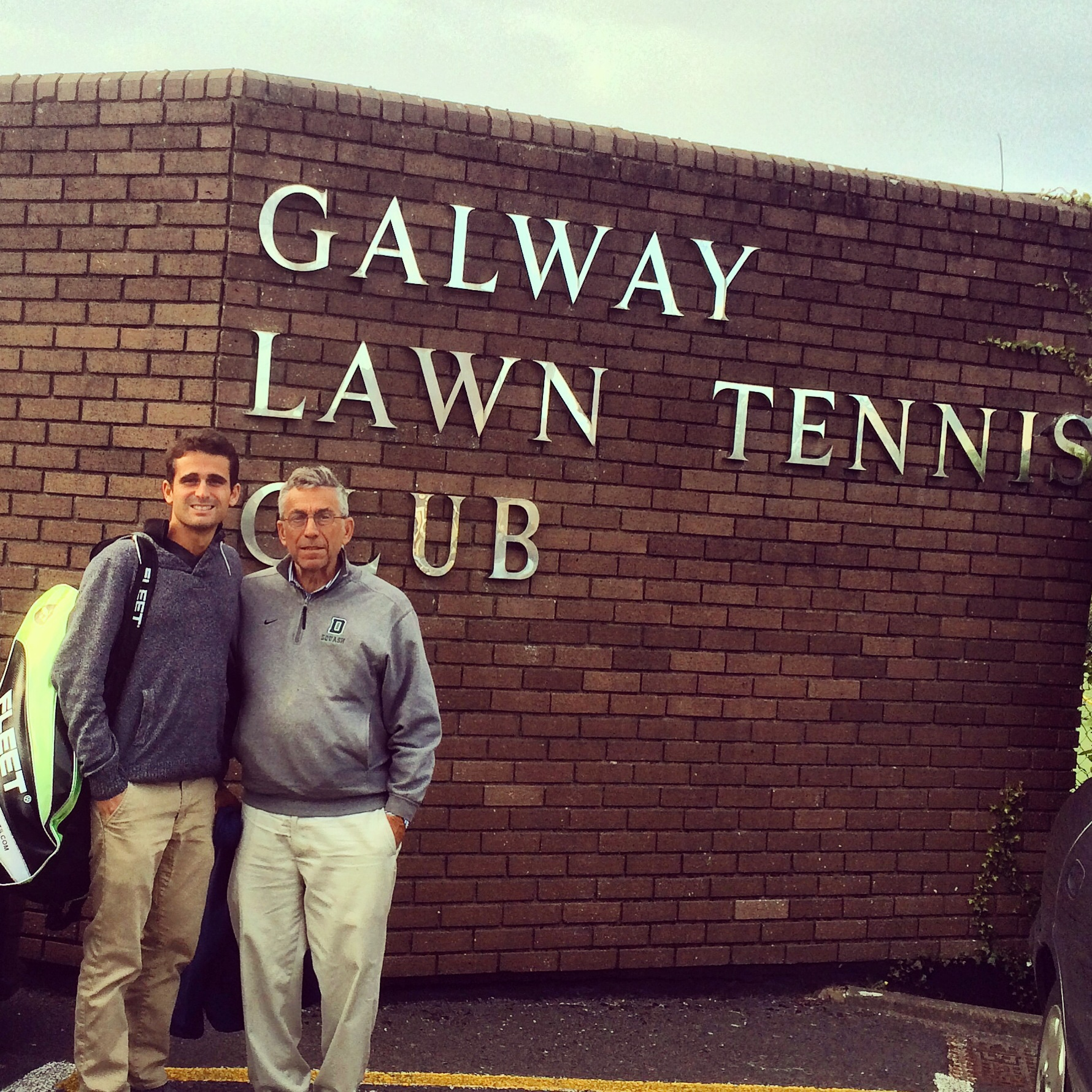 Team Lewis on Cloud 9 at the West of Ireland Open 2015