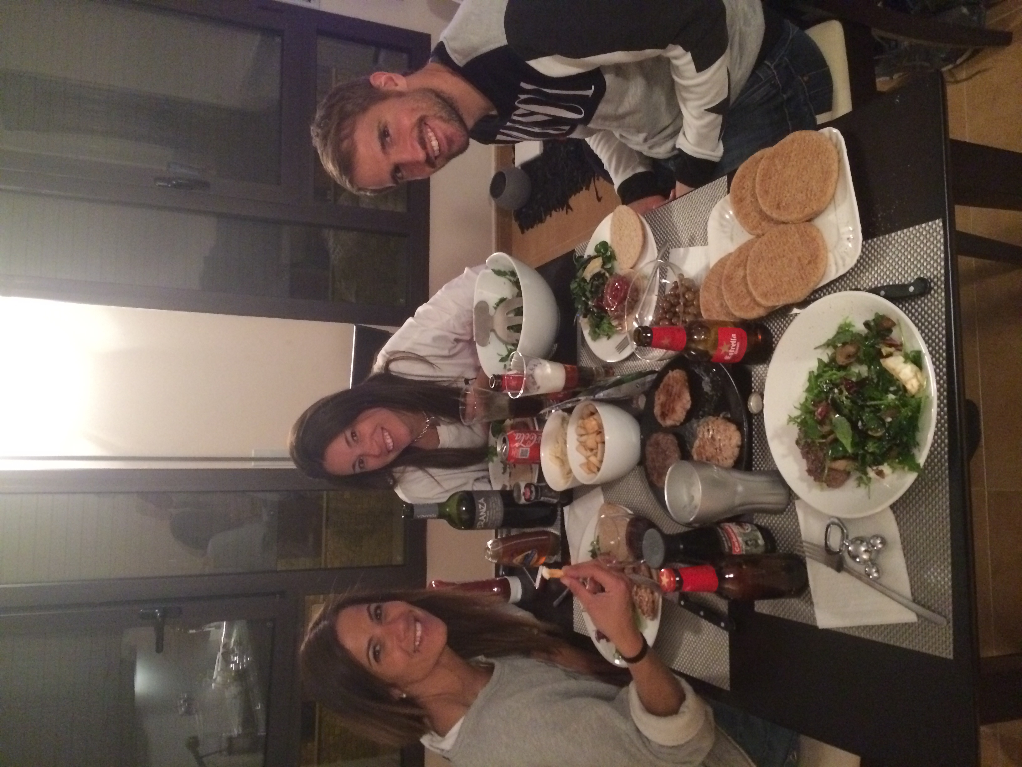 Family dinner with the two best Andorrans of them all