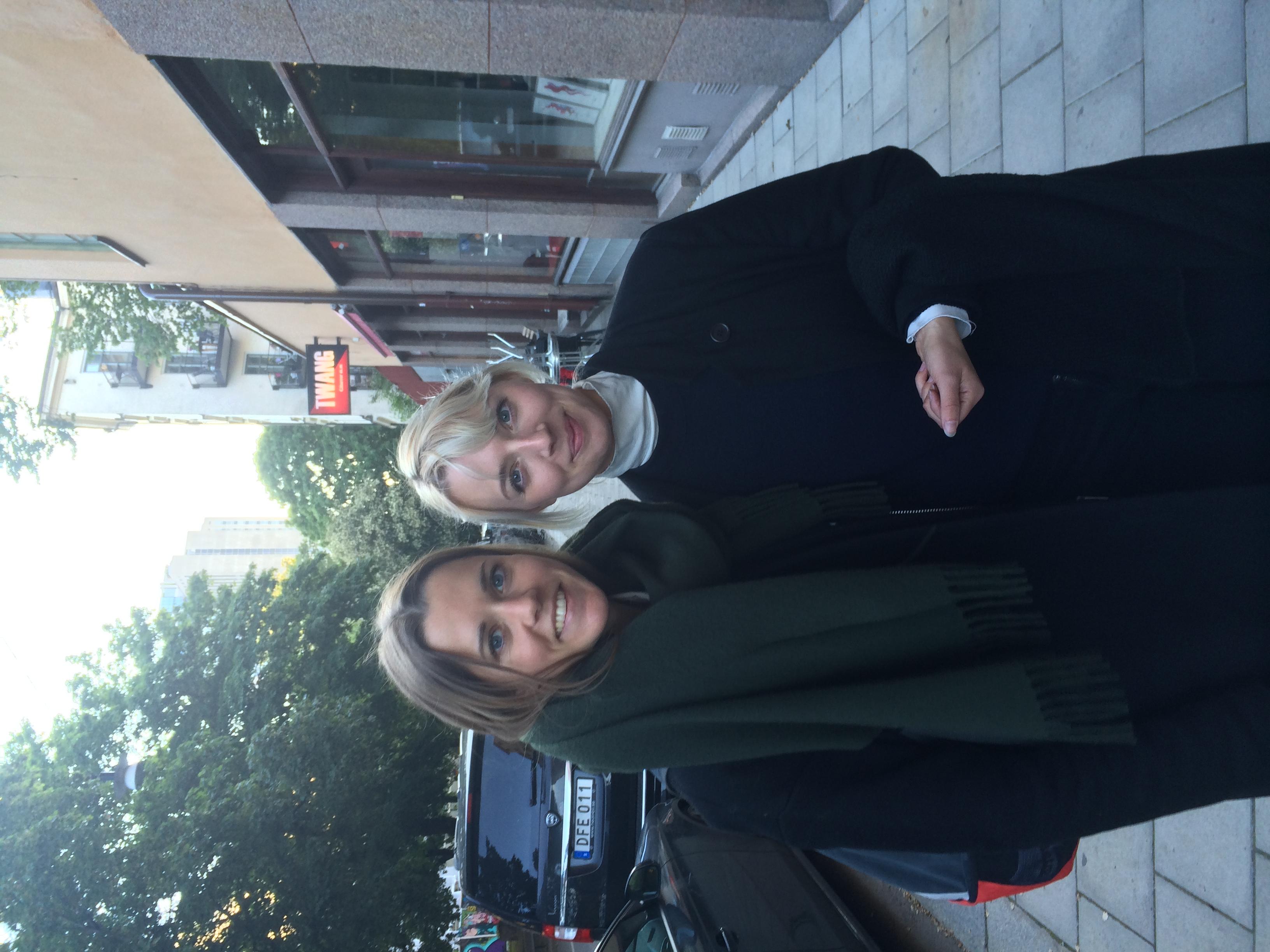 Josefine Almegran & Elvira Svedmalm / Stockholm, Sweden