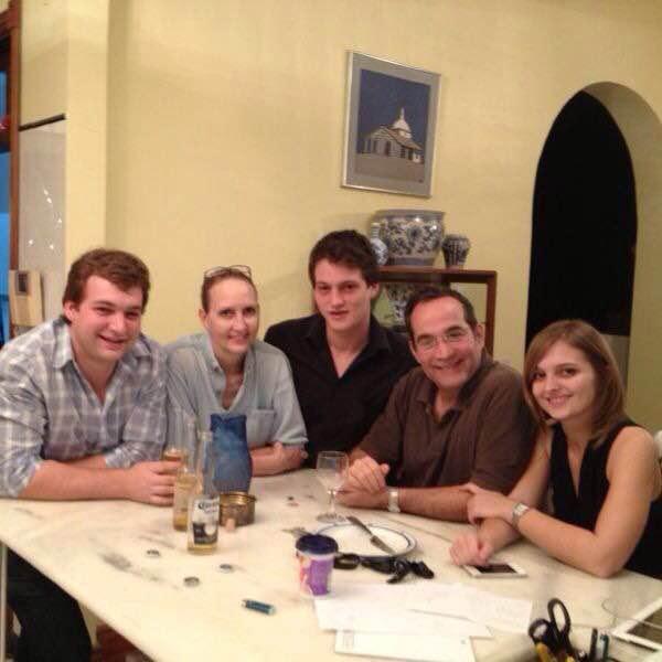Tommy Burt & family / Asuncion, Paraguay