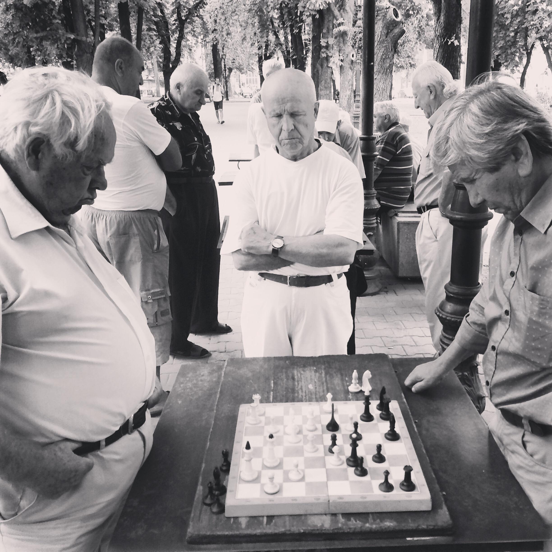 Sundays in the park in Odessa