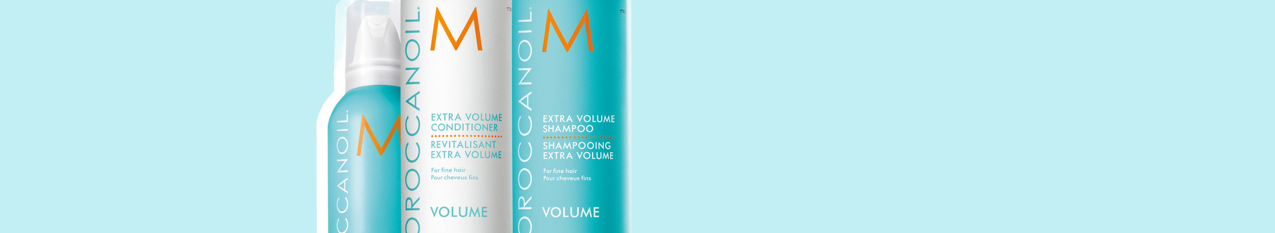Volume collection - Give normal to fine hair an all-over boost of body and life with these volumizing products that won't weigh hair down.