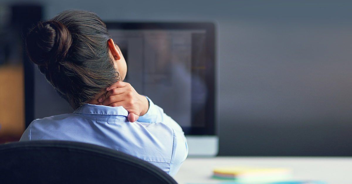 Is Your Job A Pain In The Neck? - Chronic pain isn't part of your job description.