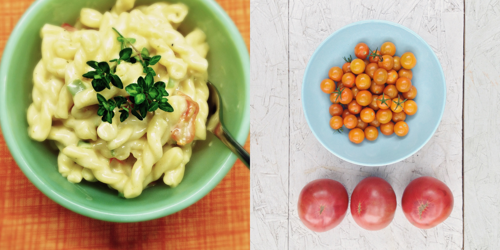 tomatoes and mac cheese diptych.jpg