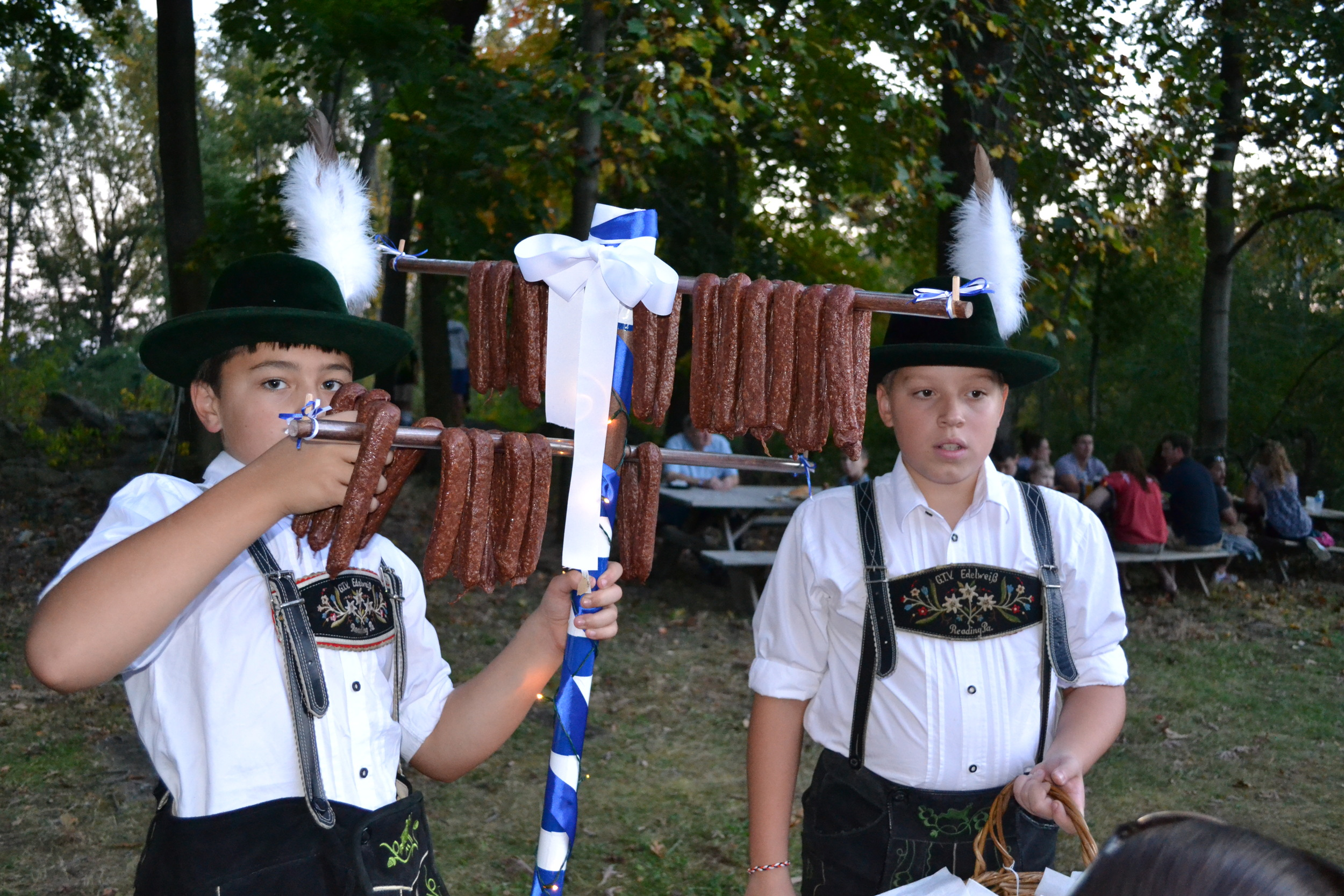 Selling German Sausages.JPG