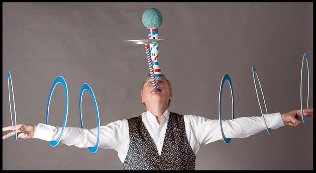 randini the remarkable, magician and juggler