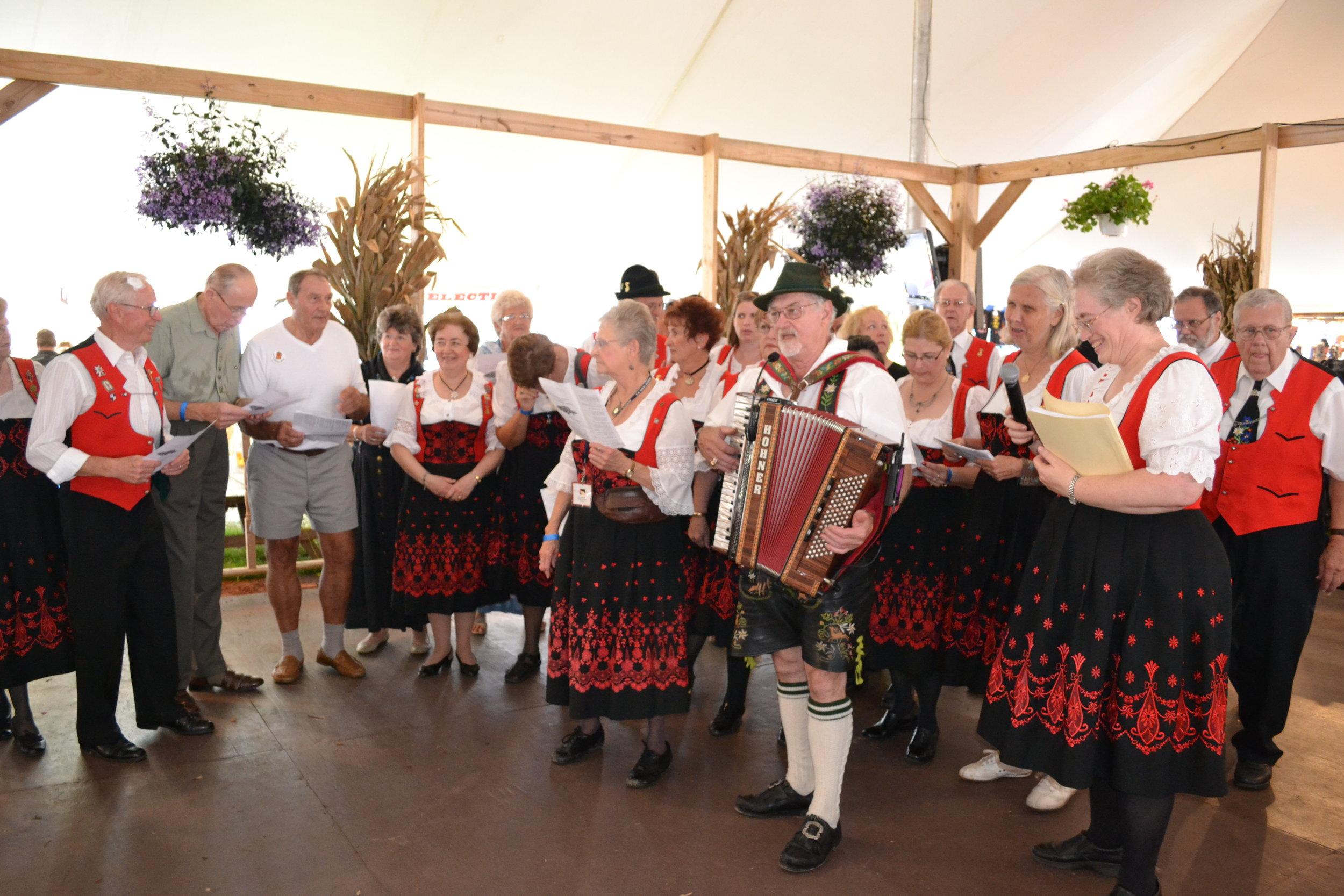 reading liederkranz singers