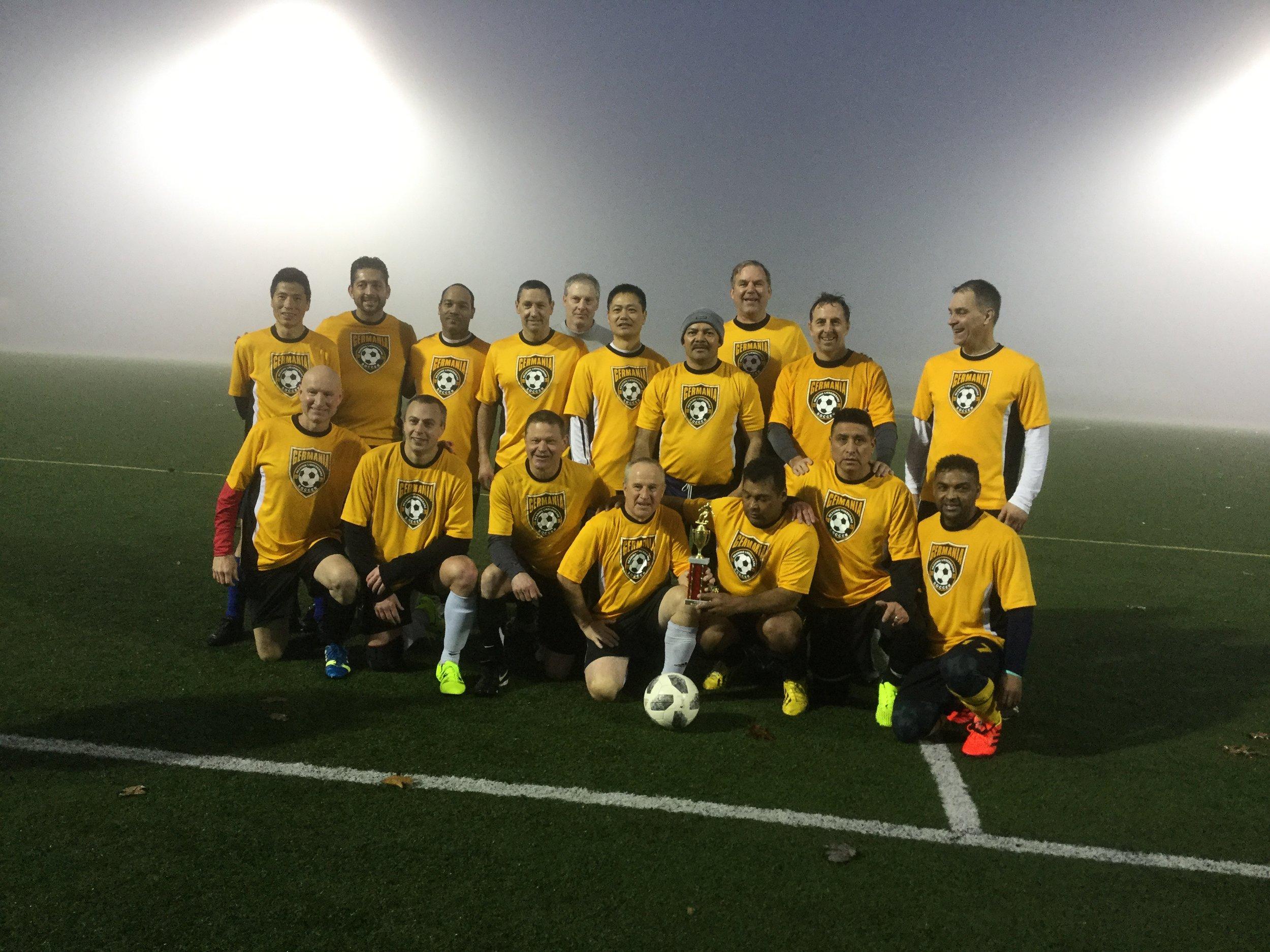 2018 Eastern pa Amateur soccer league Champions!