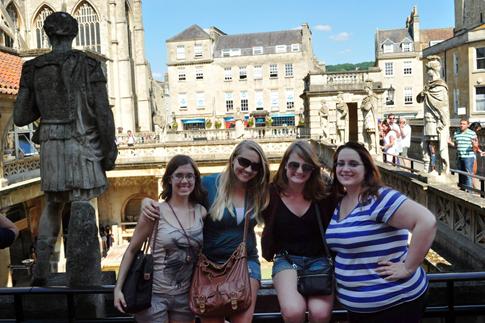 Normal   0           false   false   false     EN-US   X-NONE   X-NONE                                                                                                                                                                                                                                                                                                                                                                         Breanne and friends at the Roman Baths in Bath, England