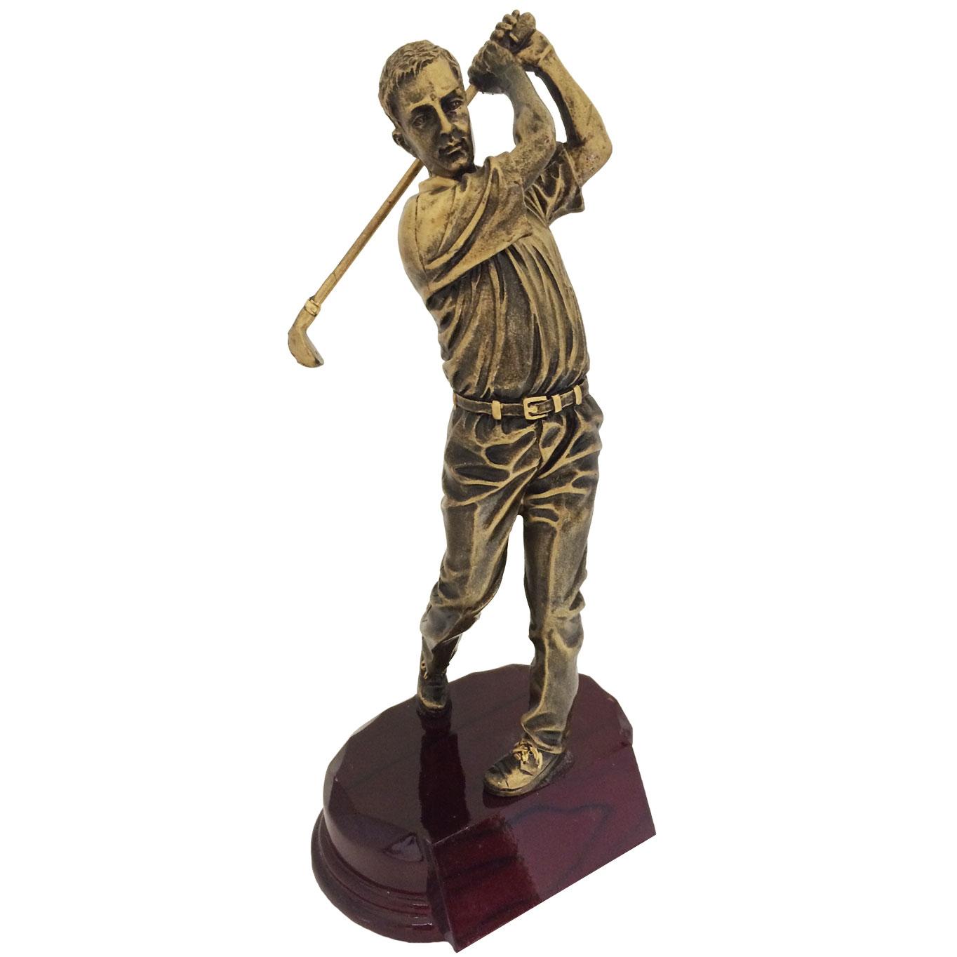 Bronze Series Golf Figure