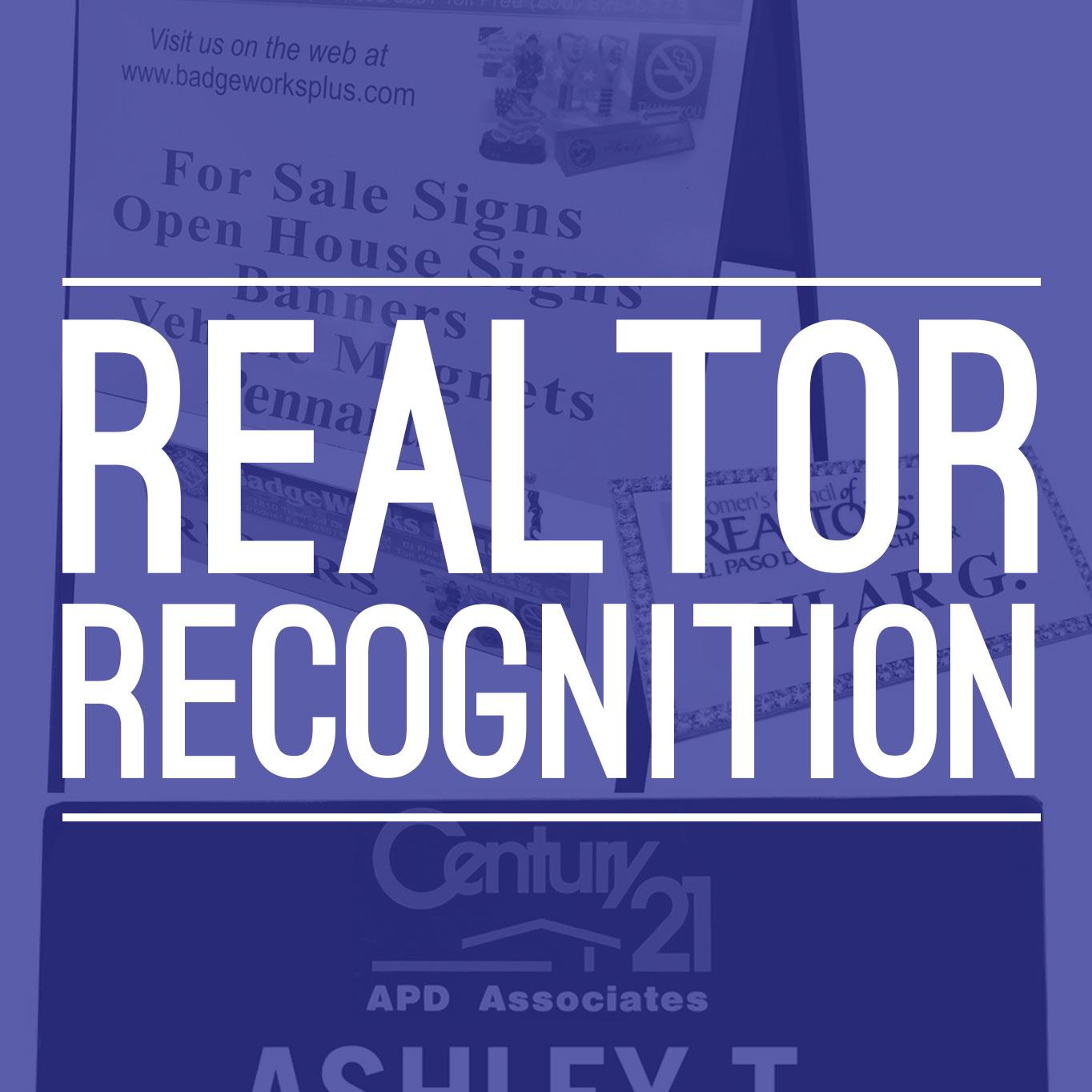 Realtor Recognition