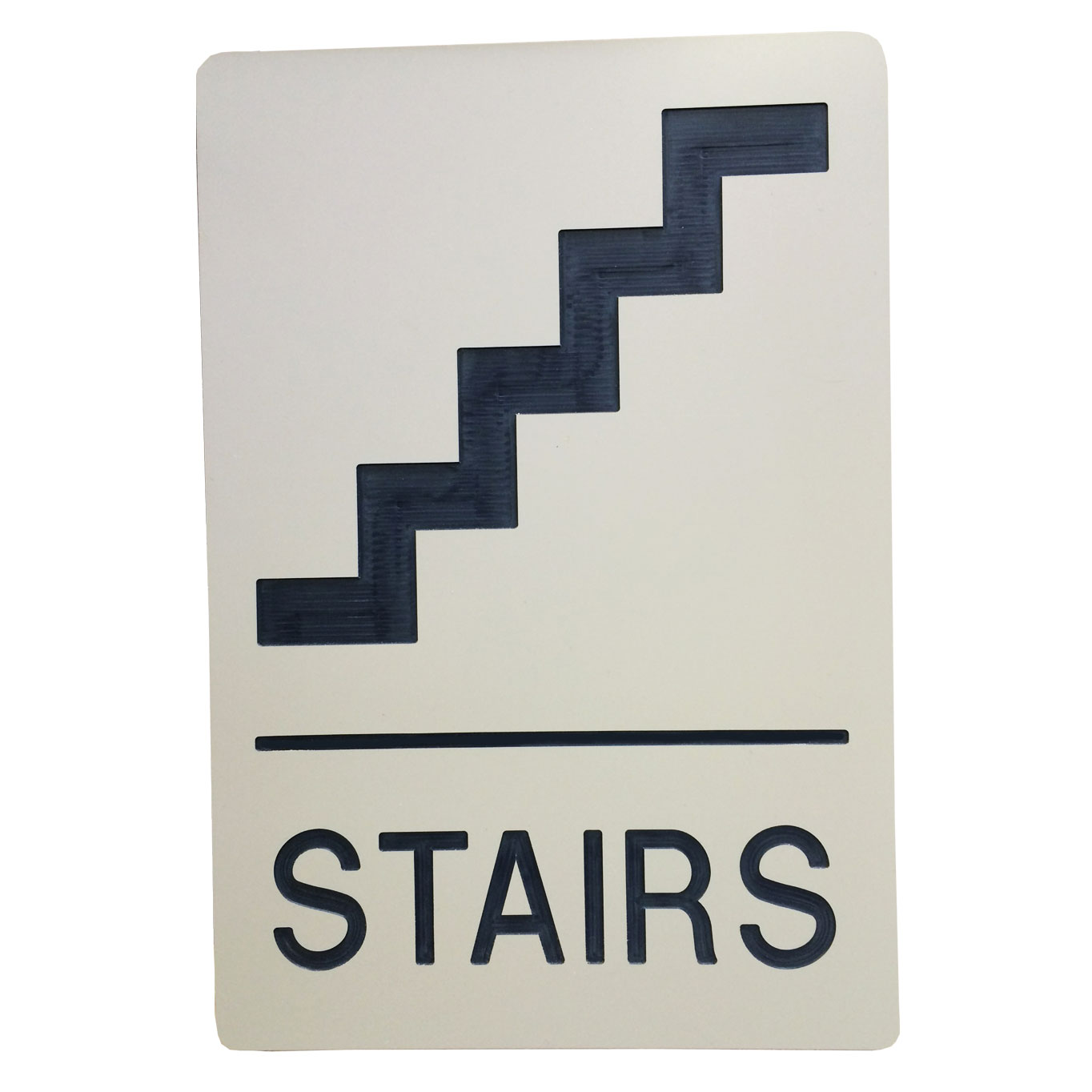 Indoor Stairs Sign