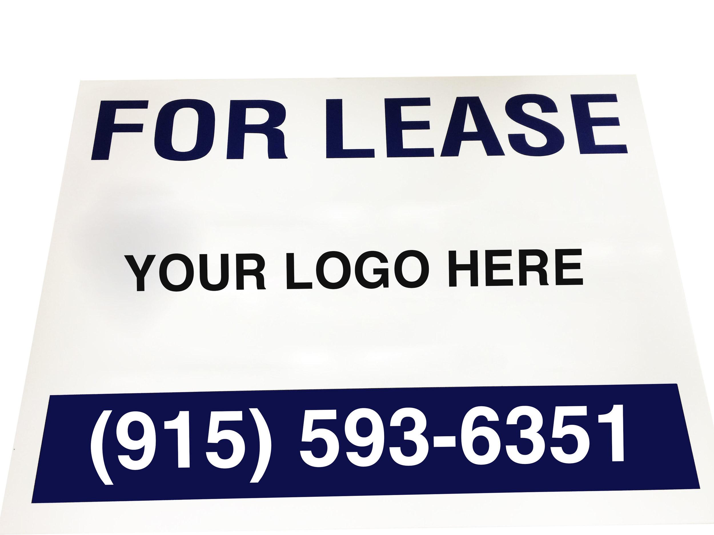 Aluminum or Corrugated Sign Panels