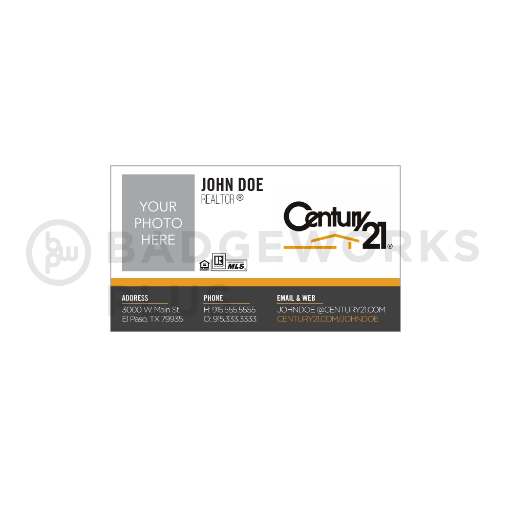Century 21 Business Card