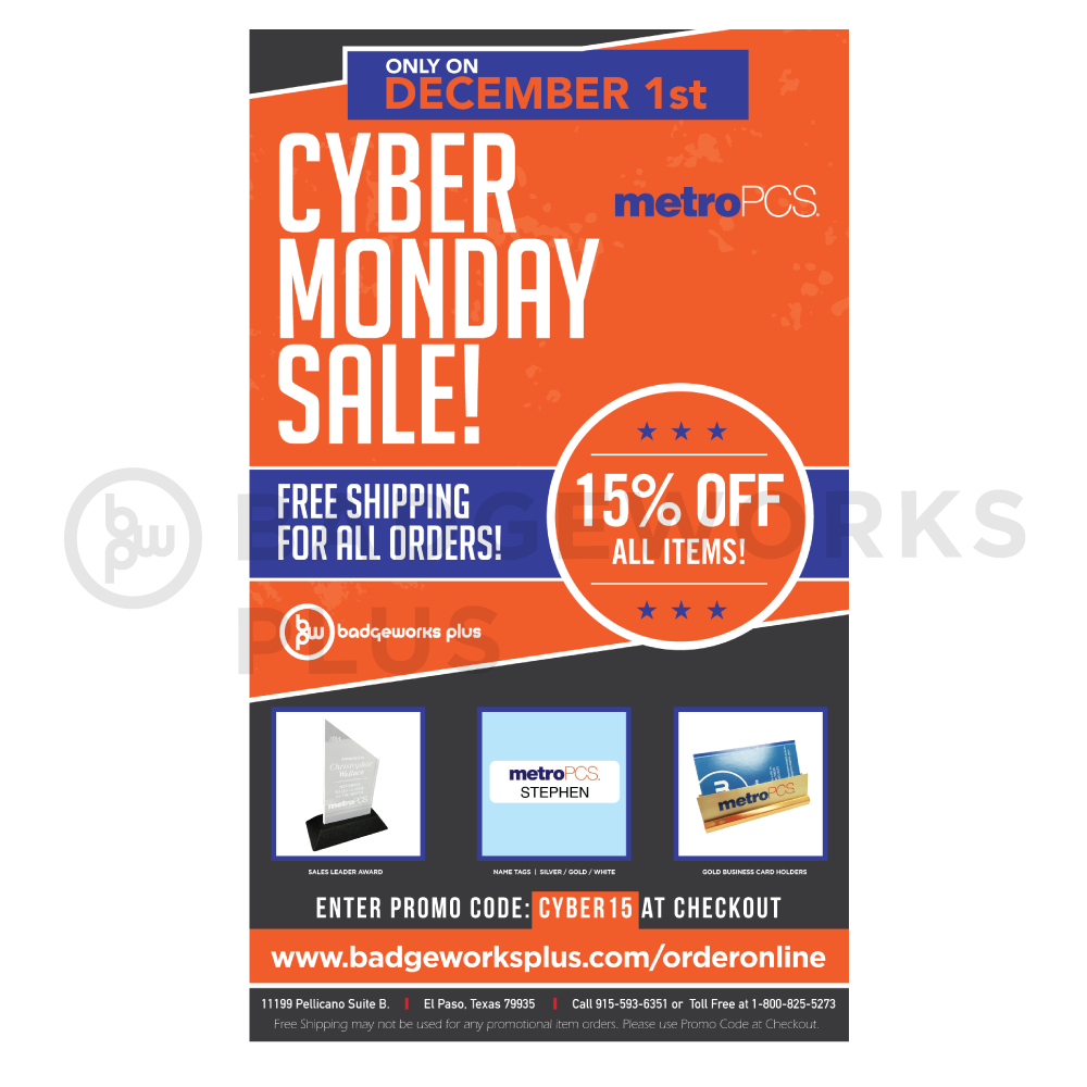 MetroPCS Cyber Monday Flyer