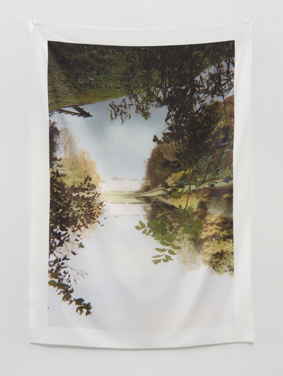 Jim Hodges - I Remember Heaven, 2012Digital print on hand-embroidered silk scarf24 x 18 inchesEdition of 30Hand-embroidered signature by the artistCourtesy the artist and Gladstone GalleryProduced exclusively for Fire Island Artist ResidencySold Out