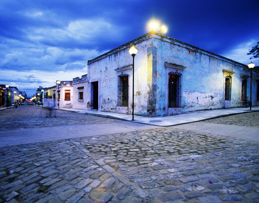 Esquina Azul, Oaxaca