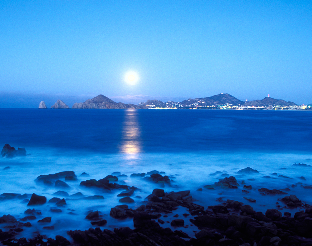 Moonset, Cabo