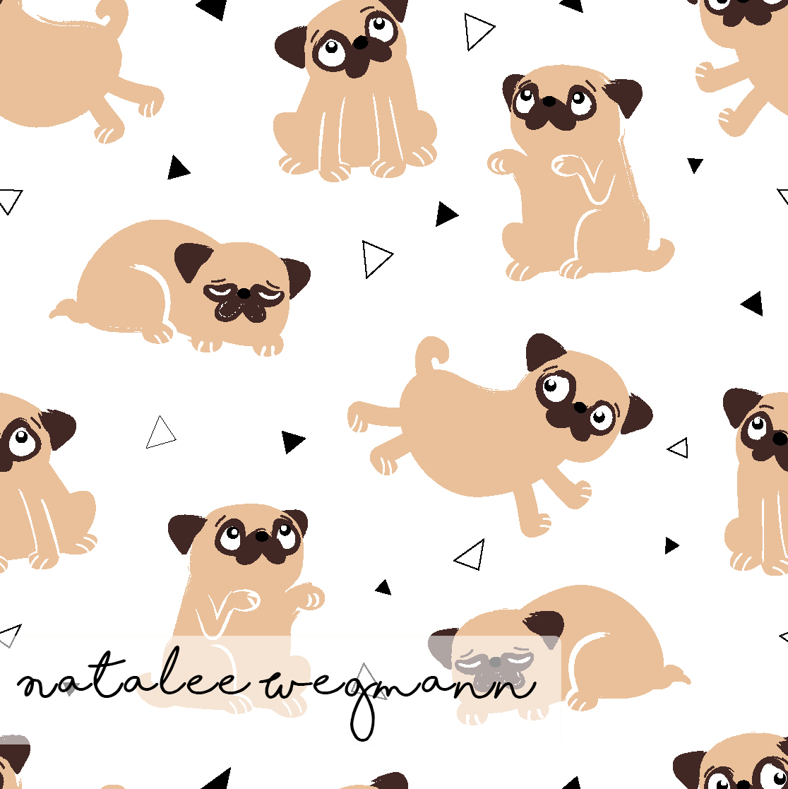 Fawn Pug Party