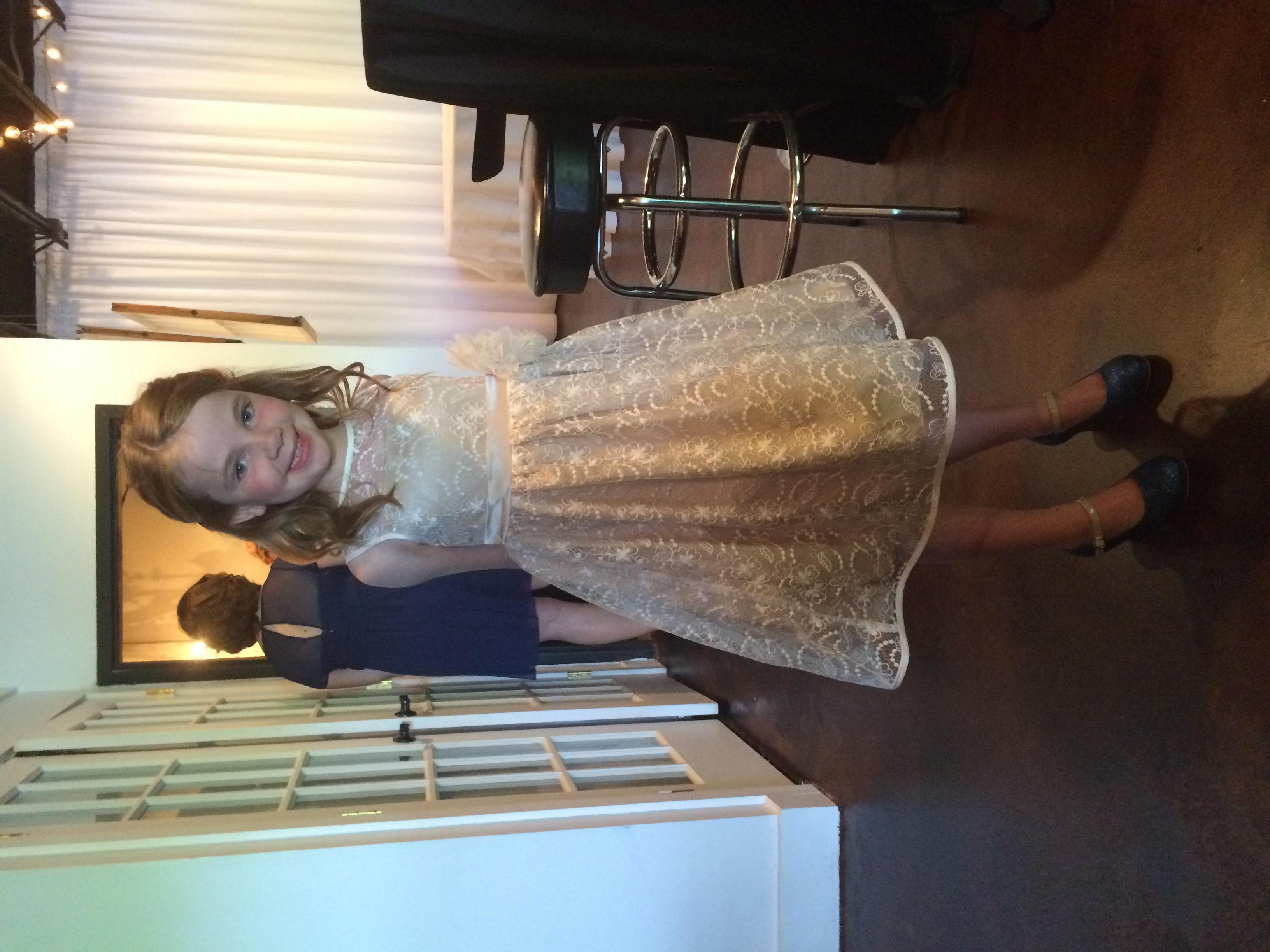 Jessica's precious niece and flower girl, Story