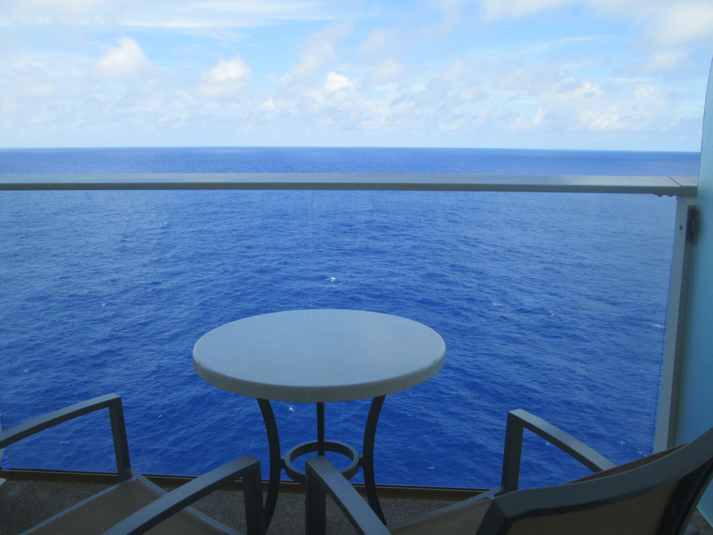 Perfect view of the beautiful Caribbean!
