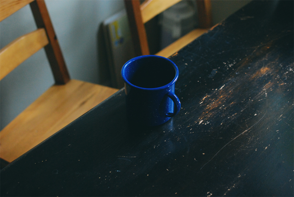 Speckled Tin Mug