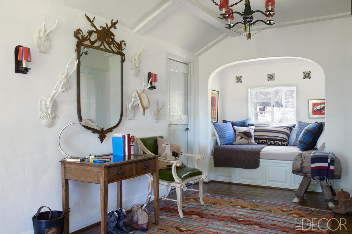 Reese Witherspoon's home in Ojai via  Elle Decor
