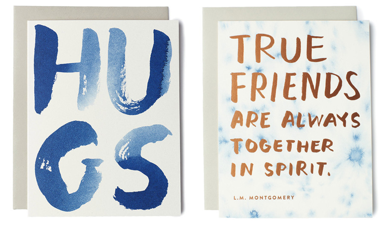 Beautiful cards from  Sycamore Street Press