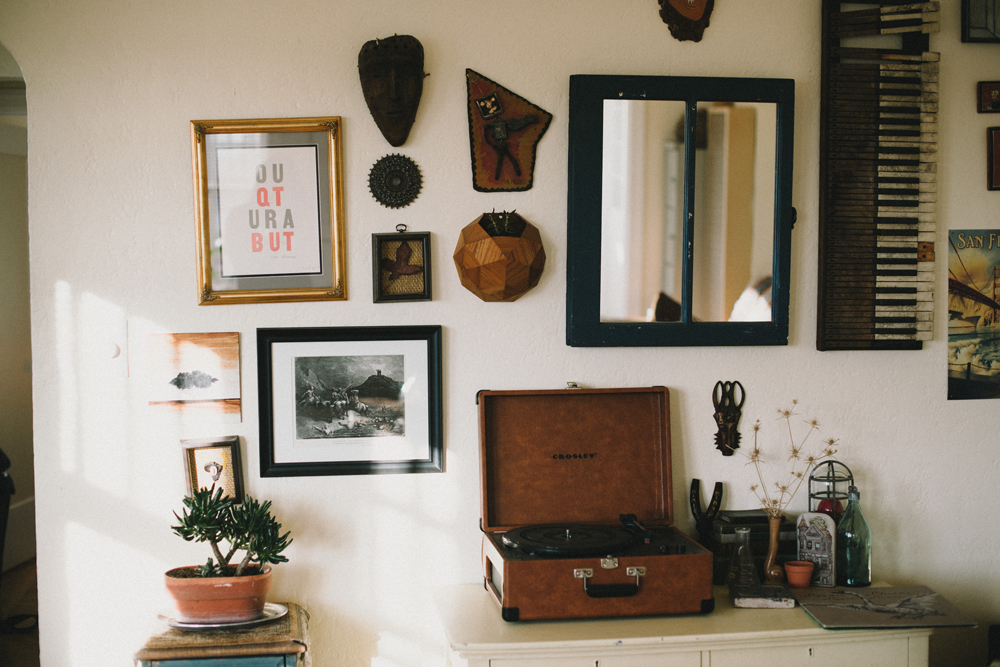 Gallery Wall | The Honest Home | Jared Tharp | Loveridge Photography