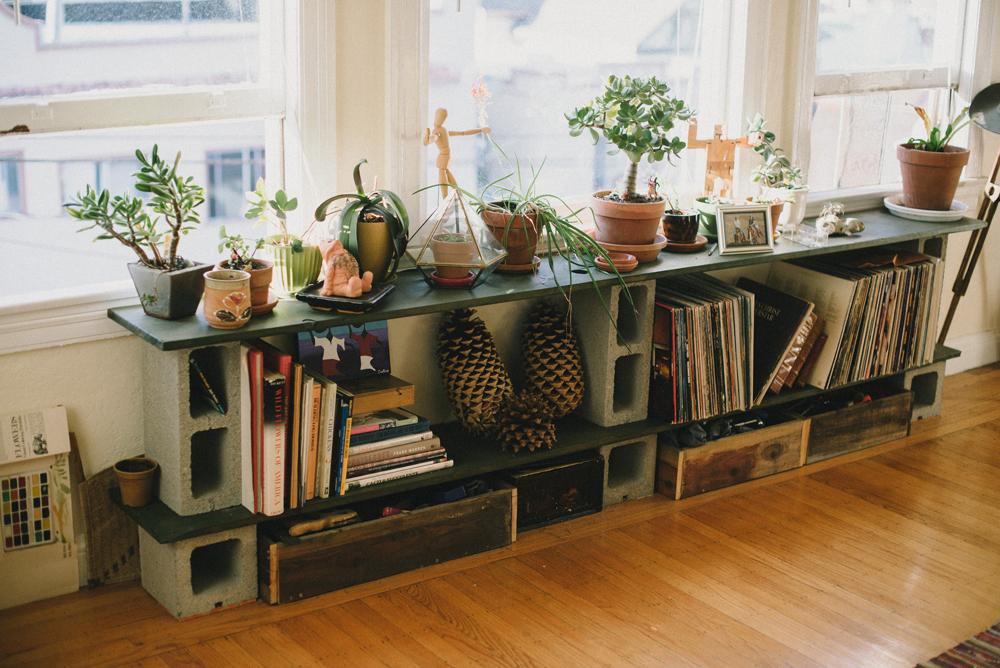 Creative Storage and Display |  | The Honest Home | Jared Tharp | Loveridge Photography