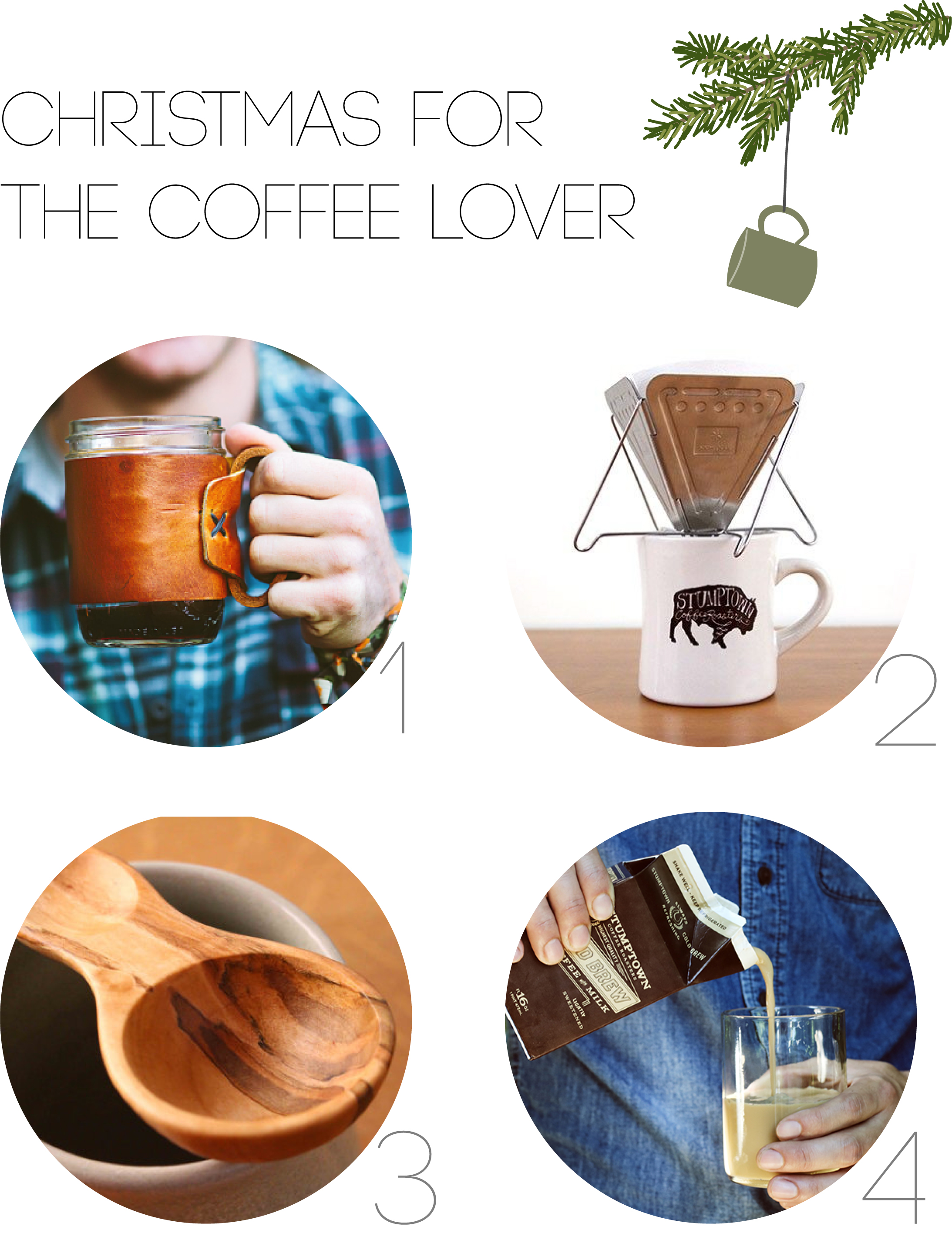 Christmas for the Coffee Lover | The Honest Home