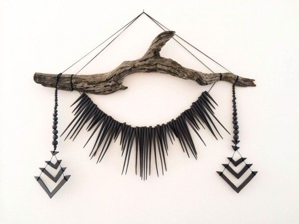 Heather Levine Wall Hangings via The Honest Home