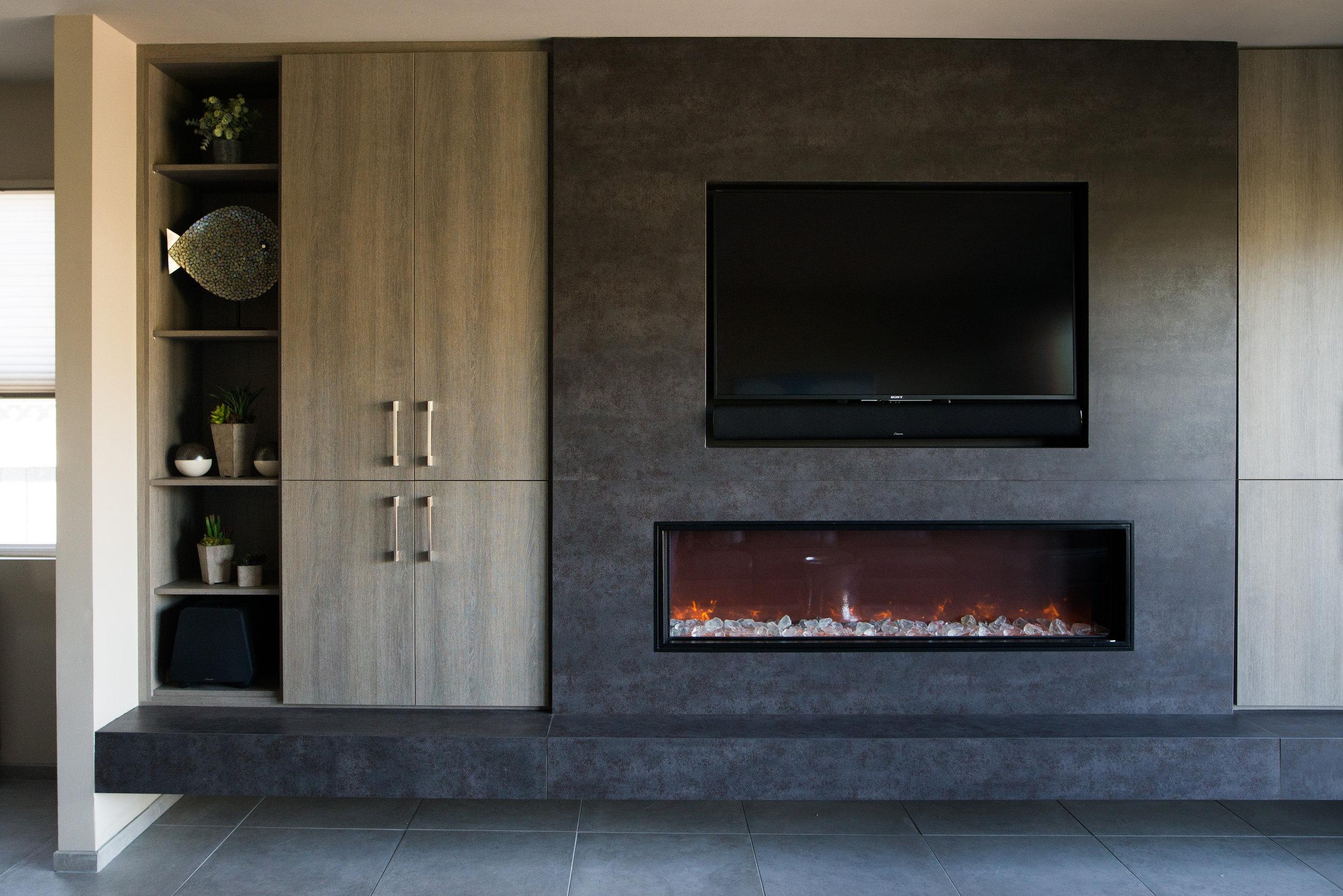 Fireplace Wall - Cody Design Studio