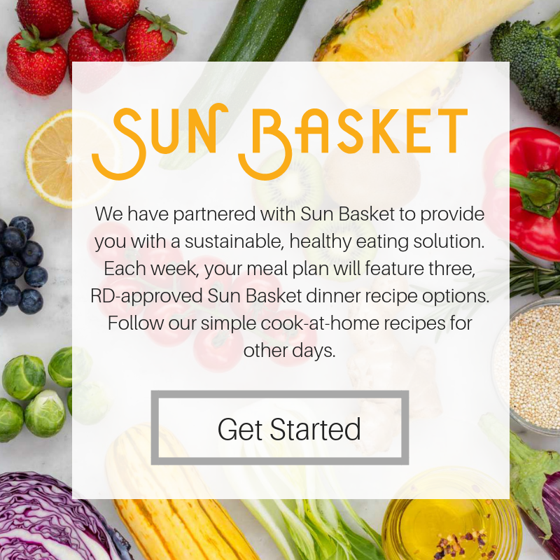Sun Basket Meal Plan
