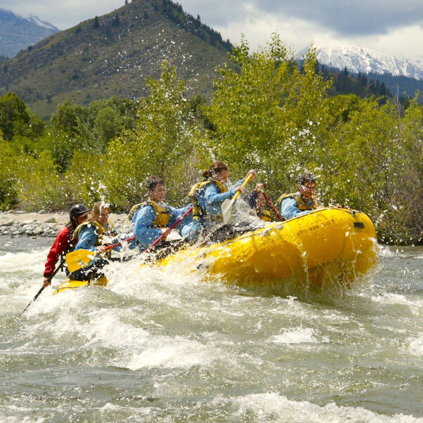 River Rafting + Beer Garden Cook Out    May / June 2014