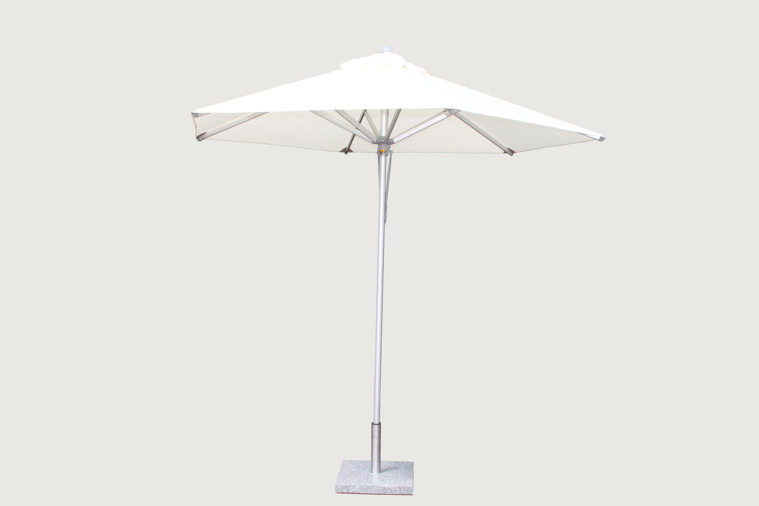 Santa Ana Center Pole Aluminum Umbrella