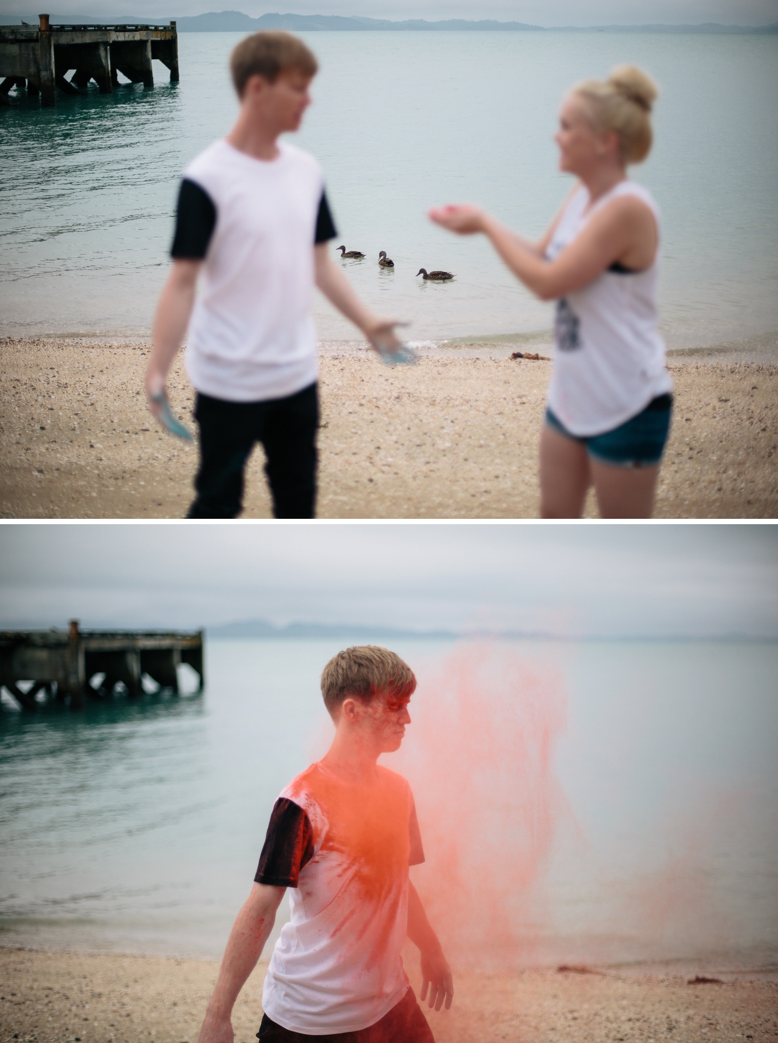 Adam and Darcie // Holi Powder Engagement Shoot by Patty Lagera Photography