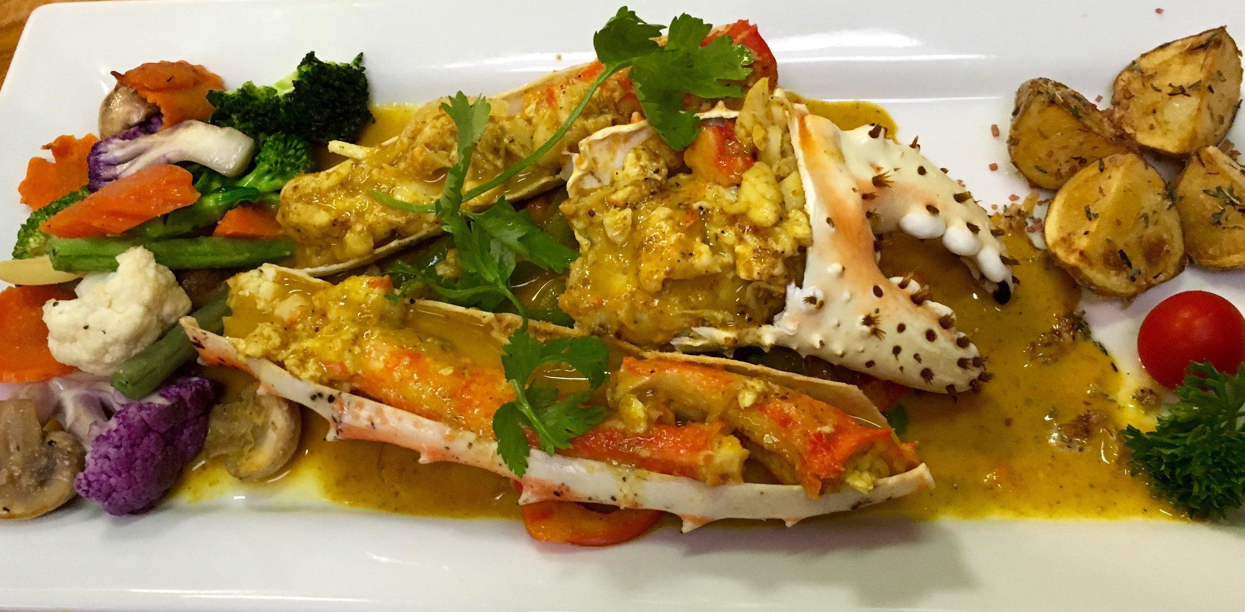 Alaskan Curried Crab