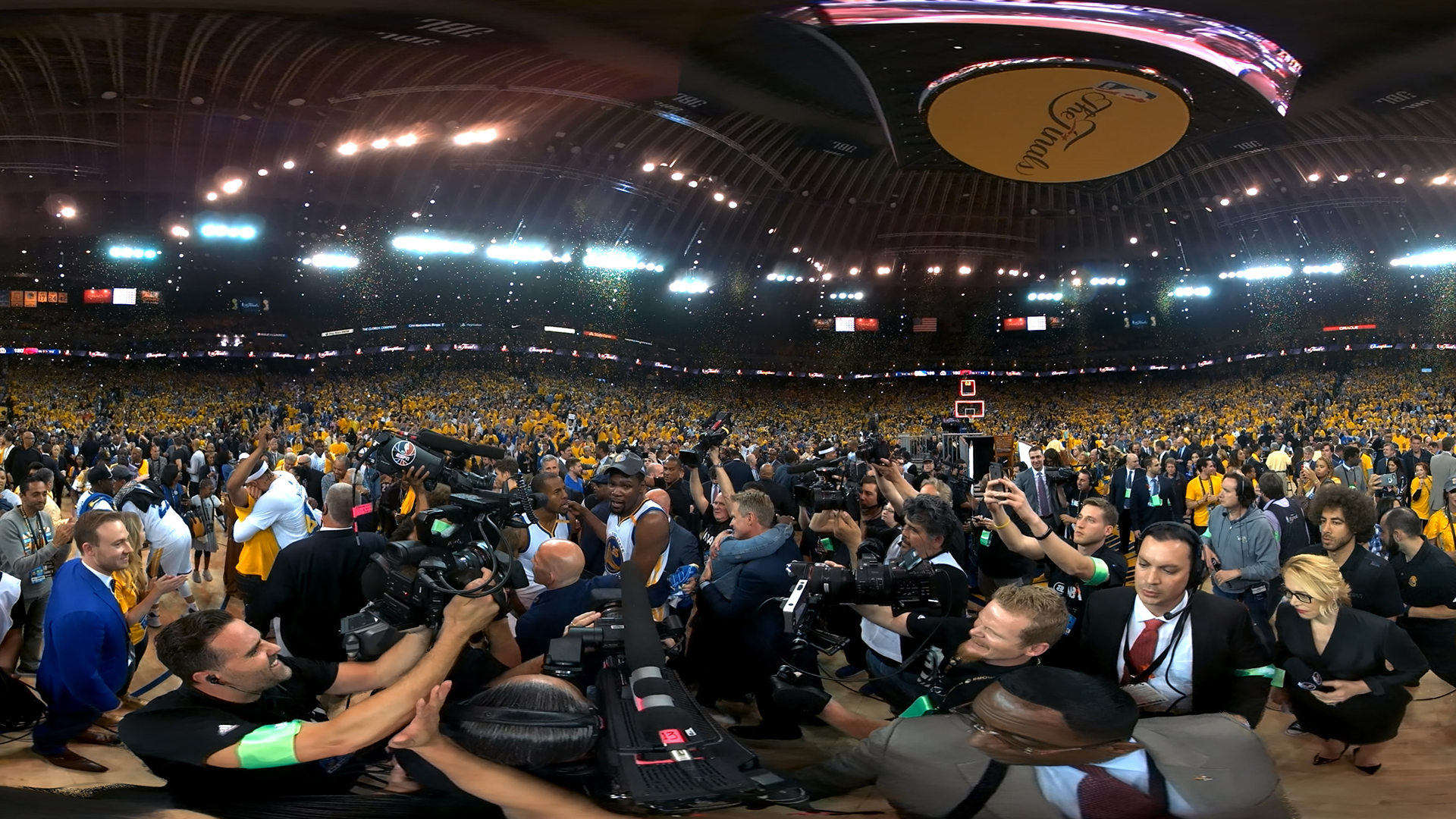 STRENGTH IN NUMBERS: THE STORY OF THE 2017 NBA FINALS -
